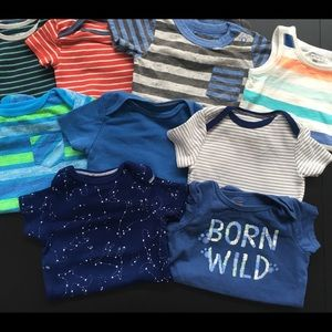 Other - GUC - Ten Baby Boy Onesies